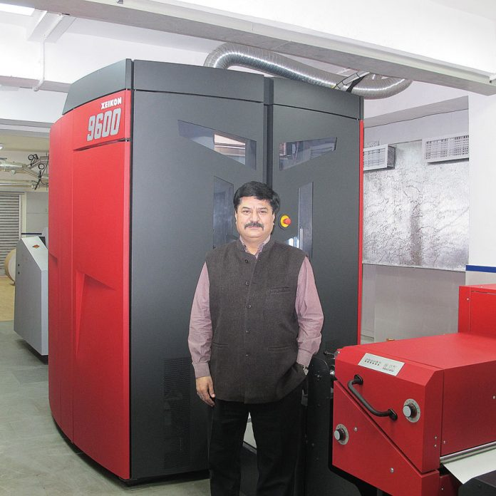 New Xeikon 9600 at Thomson Okhla for color books on demand