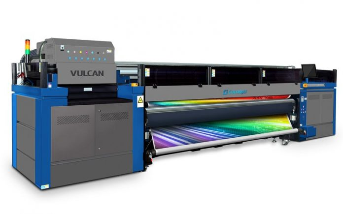 ColorJet to launch 3.2-meter UV LED Roll to Roll Printer VULCAN