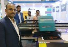 Venkataramana Graphics shows Infiniti spot UV machine