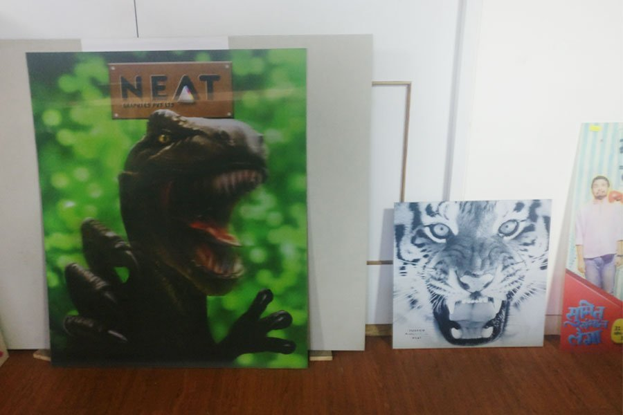 Samples printed by Neat Graphics
