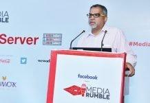 Raju Narisetti, a renowned journalist at Media Rumble
