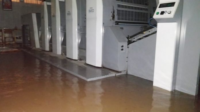 RMGT customer's premises flooded in Kerala