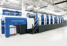 koenig & Bauer will be showcasing a highly automated eight colour rapida 145 for 4-over-4 perfecting at the beginning of september 1