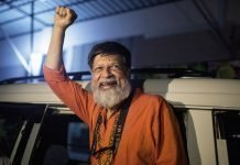 Bangladeshi photographer and activist Shahidul Alam was released from Dhaka Central Jail, Keraniganj, near Dhaka, on Nov. 20, 2018
