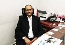 MN Pandey, director, Avantika Printers. Photo IPP