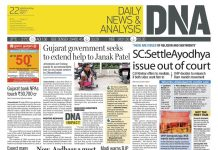DNA the daily newspaper owned by Diligent News Media which belong to ZEE Entertainment Enterprises which in turn belongs to the Essel Group