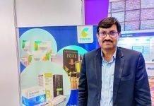 Sunesh Yadav of Century Pulp & Paper at Innopack Pharma Confex 2019