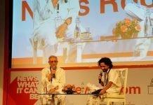 Gulzar with Abhinandan Sekhri ,Poetry and Cinema