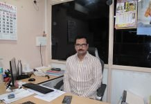 PVG Bhaskar, owner of Nirmala Offset Printers and Traders