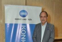 Kuldeep Malhotra, vice president sales, Konica Minolta