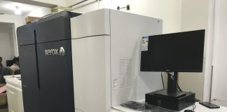 New Xerox Iridesse installed at Ankita Communications by Monotech Systems. Photo IPP