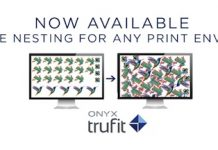 Onyx TruFit software for efficient nesting
