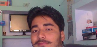 Shubham Mani Tripathi, age 25,killed by bullets fired by two shooters as he was returning home on a two-wheeler. Photo FB via The Wire
