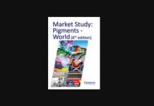 Ceresena's 6th Market Study on pigment demand