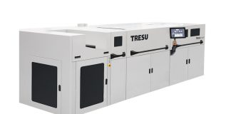 New Tresu iCoatII for short run coating and digital printers Photo Tresu