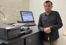 Sohil Daredia, owner of Real Graphics