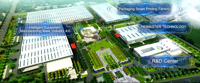 The new Masterwork 268 acre site in Tianjin where the highly automated joint venture Heidelberg Masterwork production plant is being built Screenshot IPP