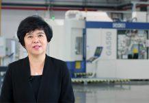 Masterwork's president Li Li speaks about the new factory in Tianjin at the Heidelberg Innovation Week in end October 2020 Screenshot IPP