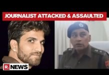 A local TV channel reports on the brutal murder of journalist Abhishek Soni in Jaipur | India loses 15 journalists to violence in 2020