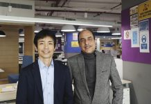 Tai Nizawa and Kuldeep Malhotra, the vice president, and director of Konica Minolta India|remote management