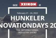 Xeikon confirms its participation in Hunkeler Innovationdays 2022