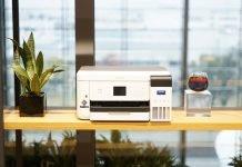 Epson's A4 size genuine dye-sublimation Inkjet printer