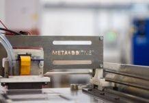 Xaar's 1003 for Meta Additive's metal & ceramic 3D printing